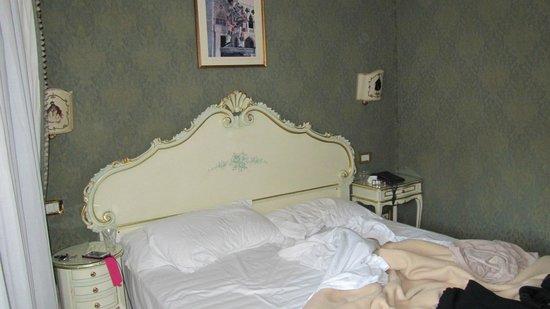 Antica Locanda al Gambero: il letto molto comodo!