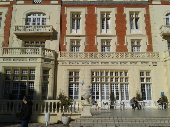 Hotel Balneario de las Salinas: fachada