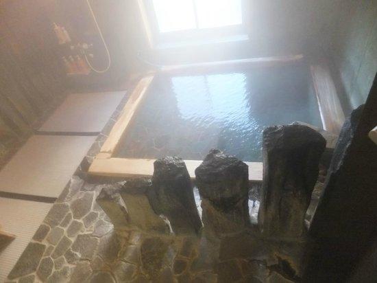 Kikuya: 古代の湯 (貸し切り内湯)