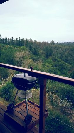 Cliffhanger Cottages: Weber for BBQ's!