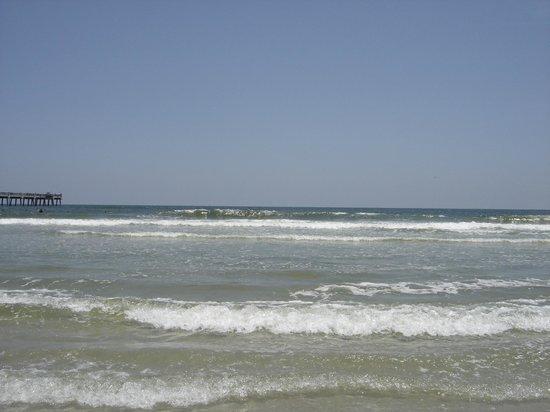 Jacksonville Beach: at the beach