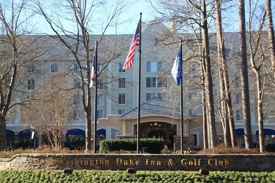 Washington Duke Inn & Golf Club: THE place tp stay in Durham!