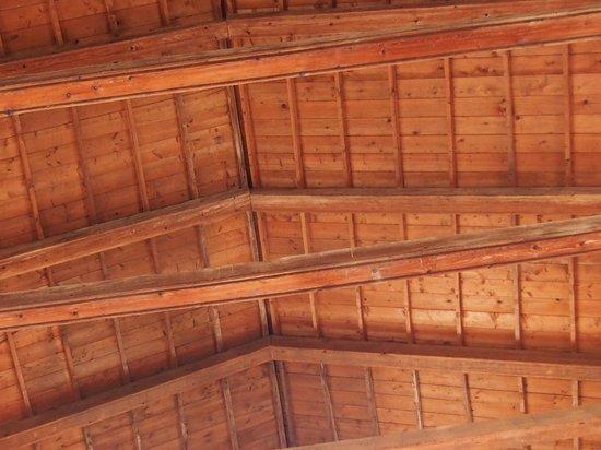 Chiesa di Santa Caterina・・・木製の天井
