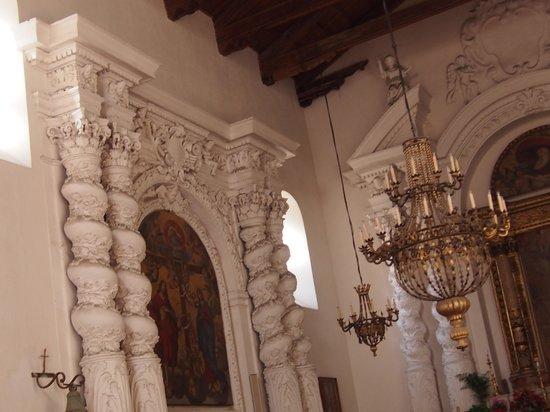 Chiesa di Santa Caterina・・・教会内風景