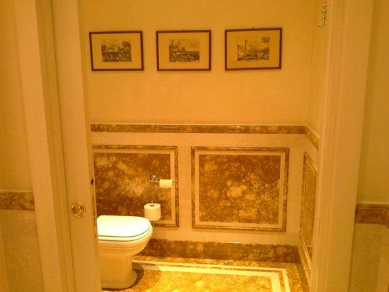 Hotel Terme Tritone Thermae & Spa: particolare toilette