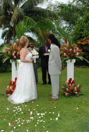 Garden House Jamaica: Wedding