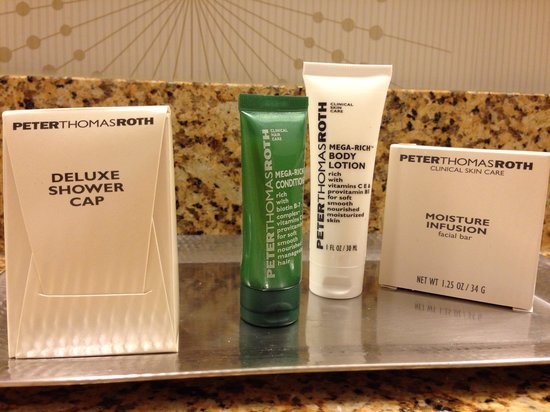 Hilton Indianapolis Hotel & Suites: I love this toiletry line