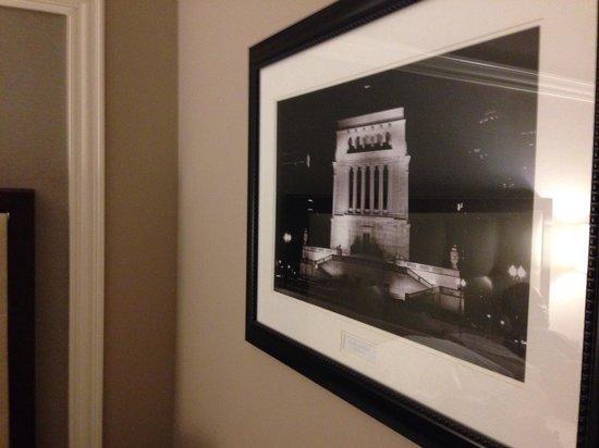 Hilton Indianapolis Hotel & Suites: Indianapolis decor