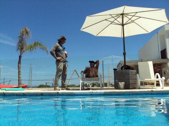 Zen Boutique Apart Hotel: Na piscina com Fede.