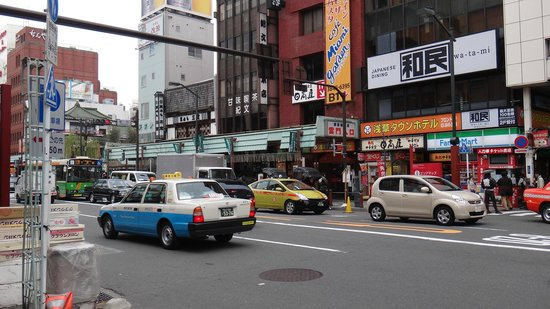THE GATE HOTEL Asakusa Kaminarimon by HULIC: The street