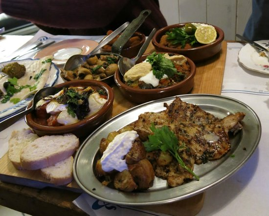 Julies & Valeri's: Selection of dishes