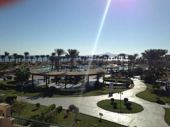 Coral Sea Waterworld Resort: View of pools