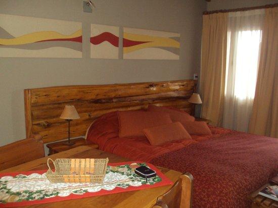 Lagos del Sur Apart & Suites: cama 2 plazas
