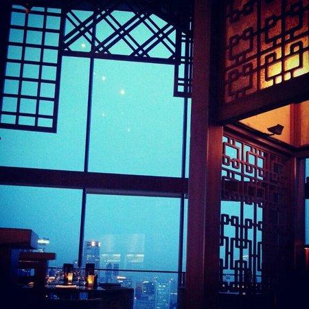 Equinox Restaurant : The architecture of the restaurant