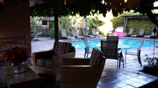 Hotel California : Pool area