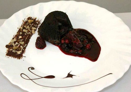 dessert au chocolat picture of restaurant silva sibiu tripadvisor