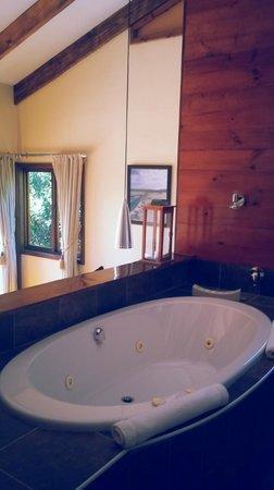 Elephant Hide of Knysna Guest Lodge: Spa Bath