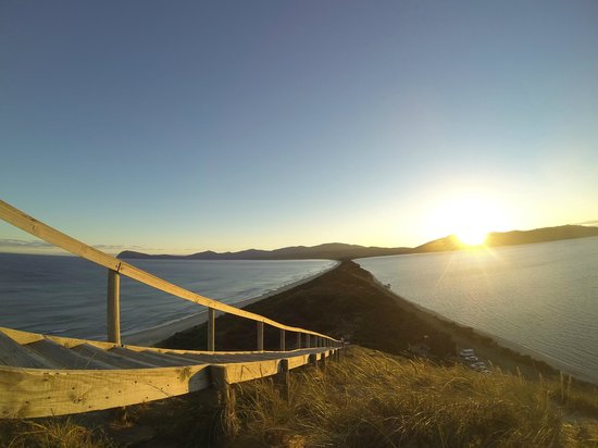Bruny Island, Avustralya: Sunset at the Neck