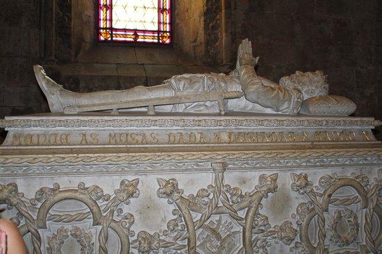 Monastère des Hiéronymites : Гробница Васко Да Гамы