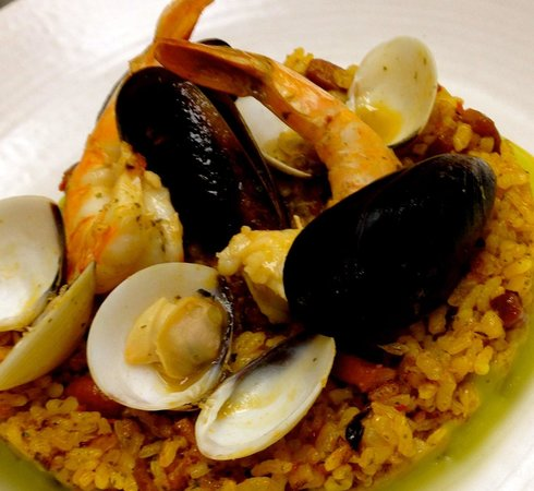 Nova: paella marinera