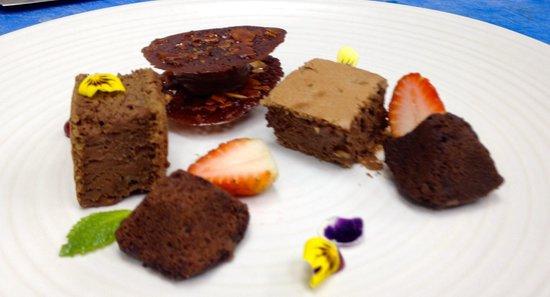 Nova: texturas de chocolate