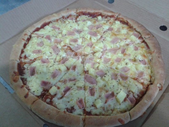 Heladeria Popis : Pizza jamon y queso