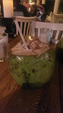 La Playita Restaurant & Bar: Le fameux Coco Frio!!! très très bon!