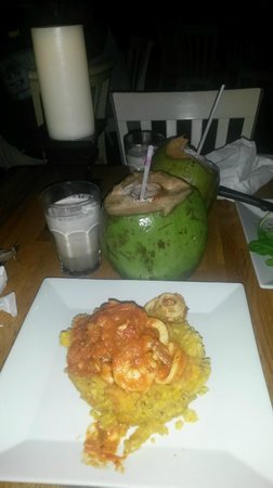 La Playita Restaurant & Bar: Mofongo de la mer, un régal