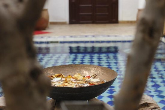 Origin Hotels Riad El Faran: Courtyard details