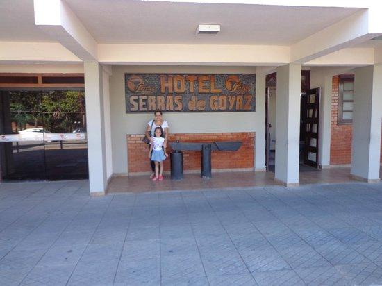 Hotel Serras de Goyaz : fachada hotel terras de goyaz
