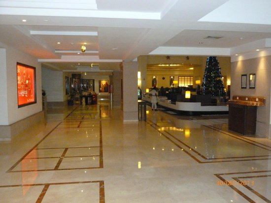 GreenPark Chennai : Entrance Lobby
