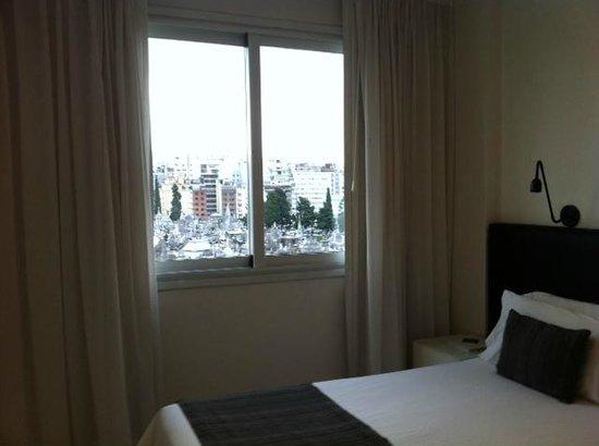 Cyan Recoleta Hotel: cuarto con vista