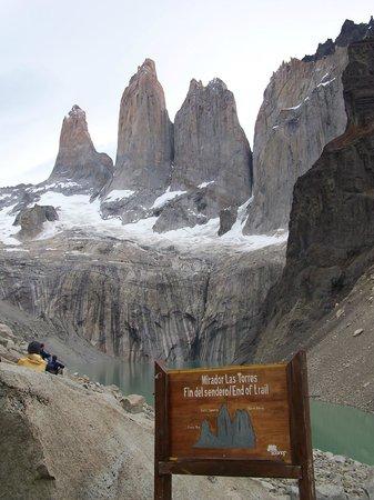 Torres del Paine National Park: Mirador Torres de Paine, Chile