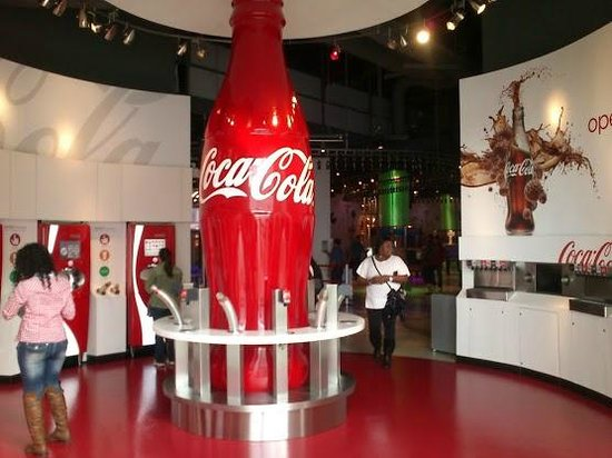 Souvenirs From The World Of Coca Cola Picture Of World