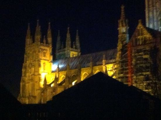 Canterbury Cathedral Lodge: View from hotel