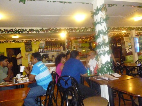 Oasis Cafe: relaxed atmosphere