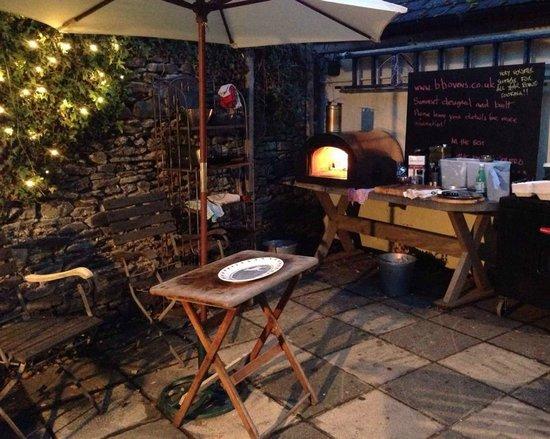 The Exmoor Beastro - Wood Fired oven in the courtyard garden