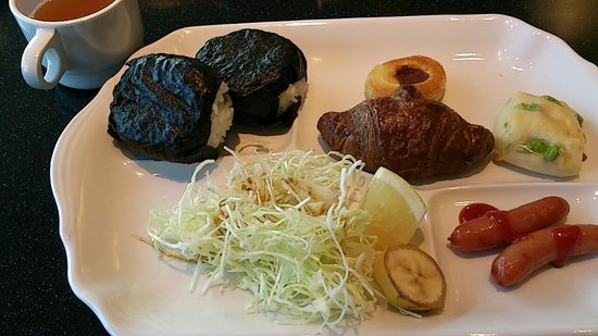 Via inn Okayama: 朝食バイキング