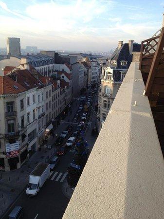 Hotel Chambord: Panorama dal 5° piano
