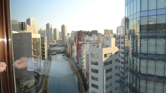 Hotel Sardonyx Tokyo: view from our room