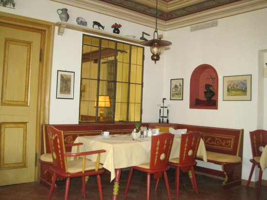 Restaurante do Hotel Hirsch em Fussen