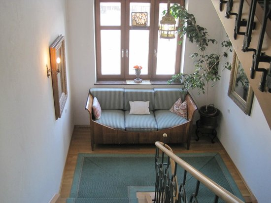 Hotel Hirsch: moveis dos corredores