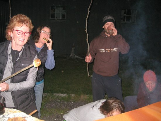 Spirit of Alaska Wilderness Adventures Lodge: dont forget the smores