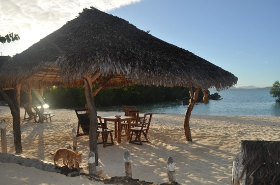Hotel Le Zahir Lodge Nosy Be: zona relax ....