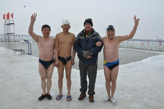 Harbin Swimming Hall: Songhua River Ice Swimmers 1