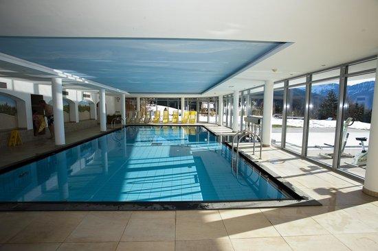 Hotel Scherlin : Een mooi zwembad! Binnen en buiten!