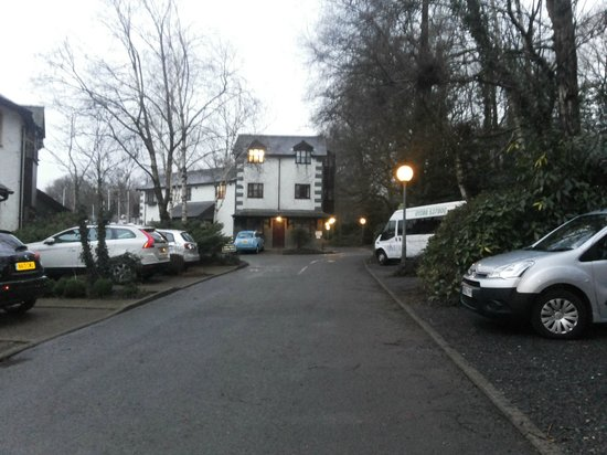 Windermere Marina Village: just in front of the cottage