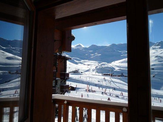 Les Montagnettes Soleil: Blick aus dem Wohnzimmer