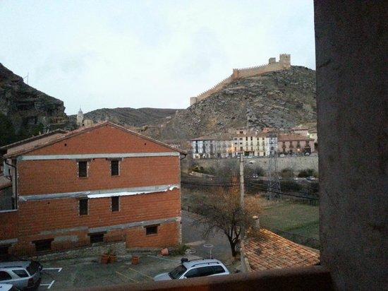 Hotel Dona Blanca: Вид из номера. Второй (русский третий) этаж.
