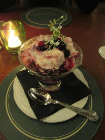 The George at Easingwold: Autumn Berry Mess